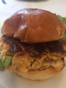 crab cake sandwich port richey